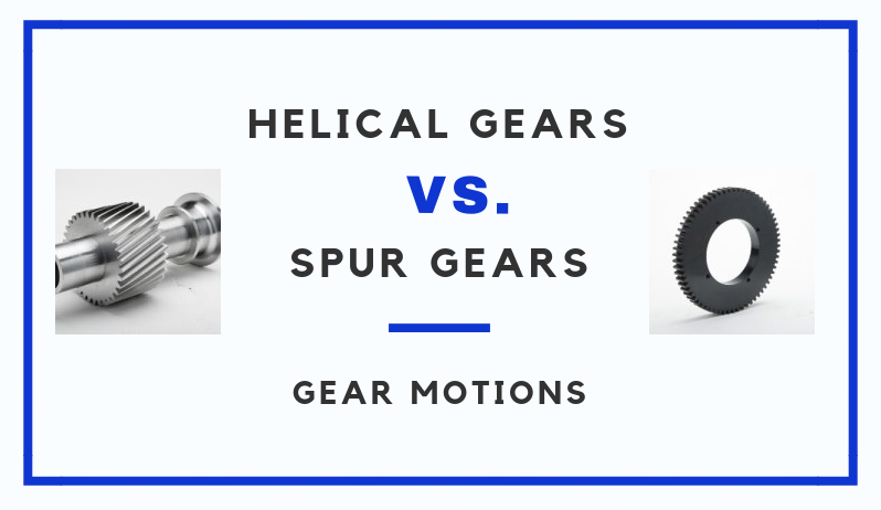 Helical Gears vs  Spur Gears - How are they different