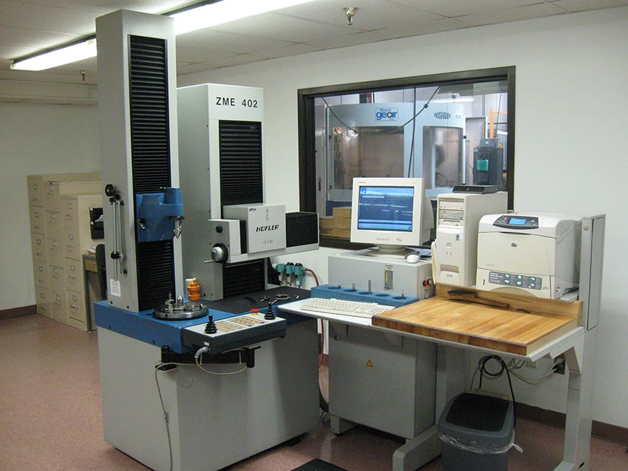 Hoefler Gear Inspection Machine at Nixon Gear