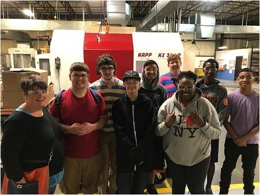 Syracuse P-Tech Students