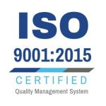 ISO 9001:2015 Certified Quality Management System