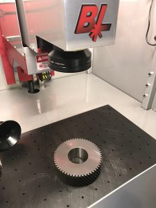 Laser Marking Machine at Gear Motions