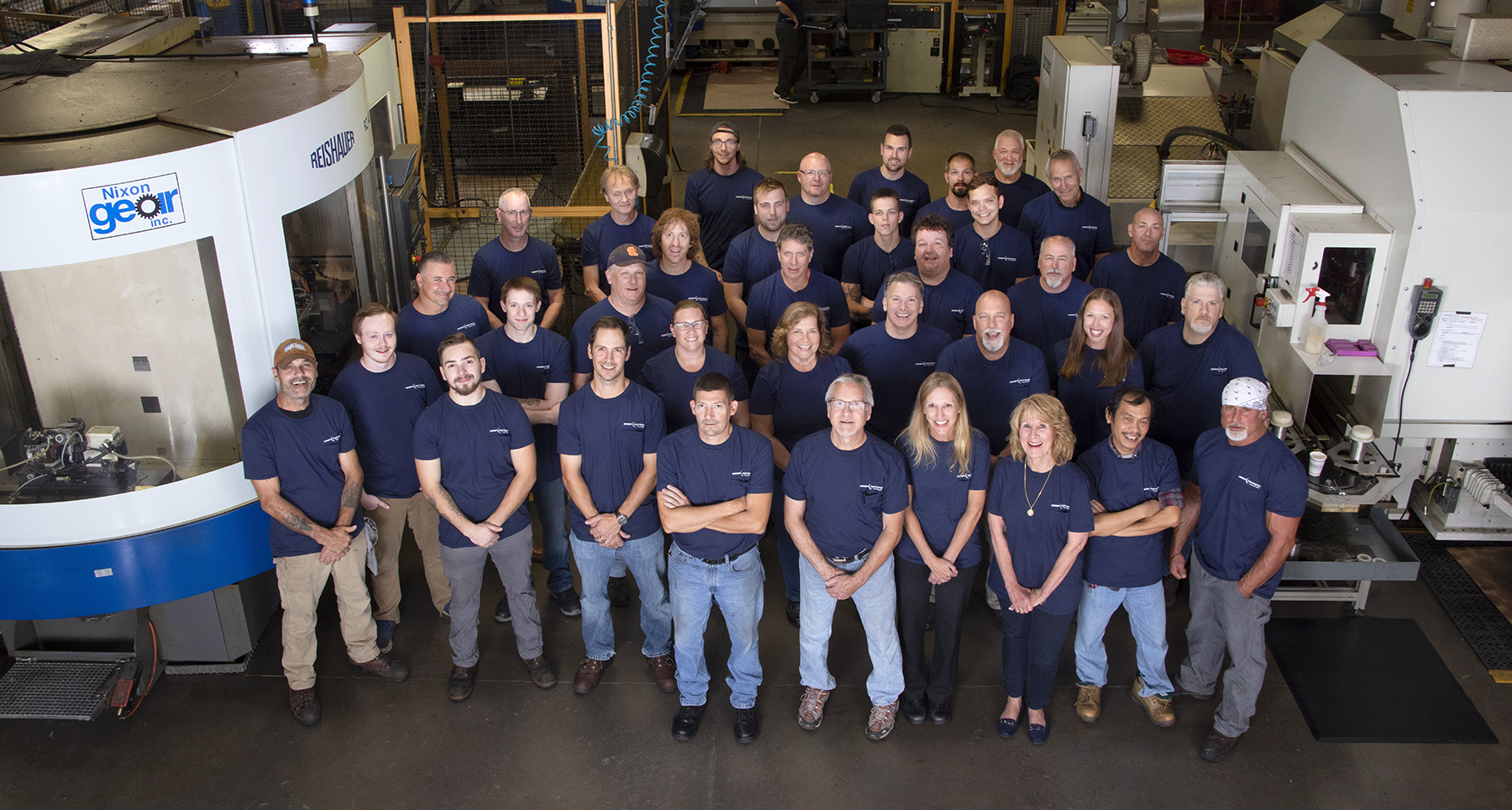 The Employee Owners at Gear Motions Syracuse Nixon Gear Division