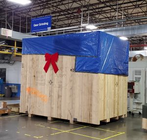 Reishauer RZ260 in box with Christmas bow