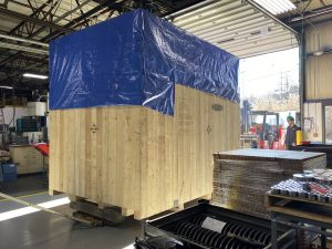 Reishauer RZ260 Delivery at Gear Motions Nixon Gear