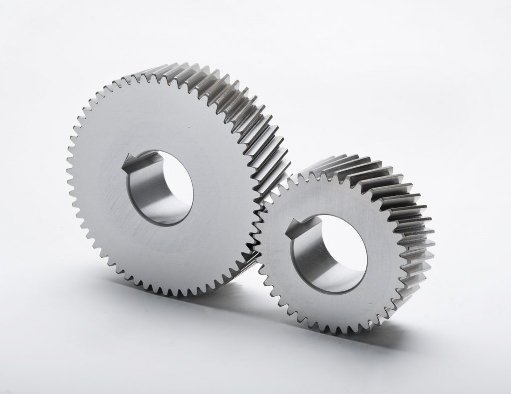 Helical Compressor Gears - Gear Motions
