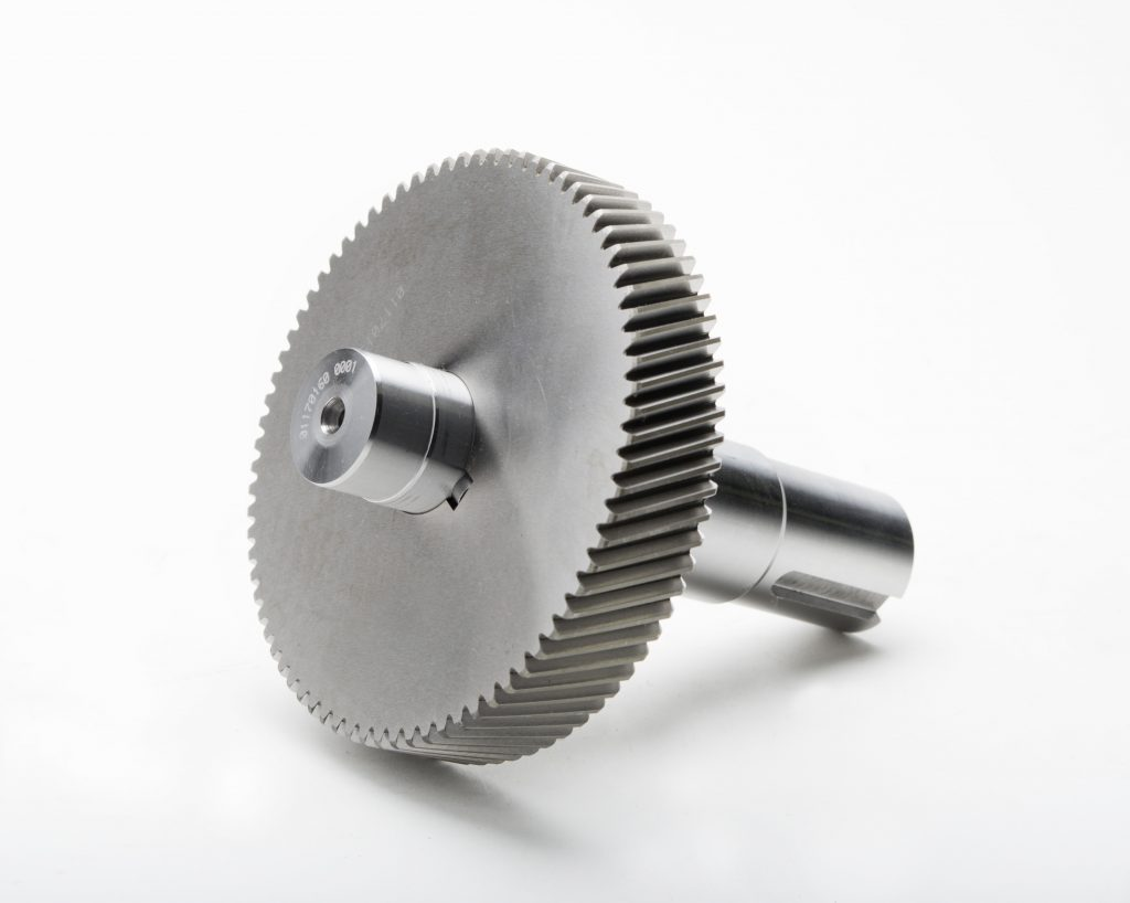 Helical Compressor Gear from Gear Motions