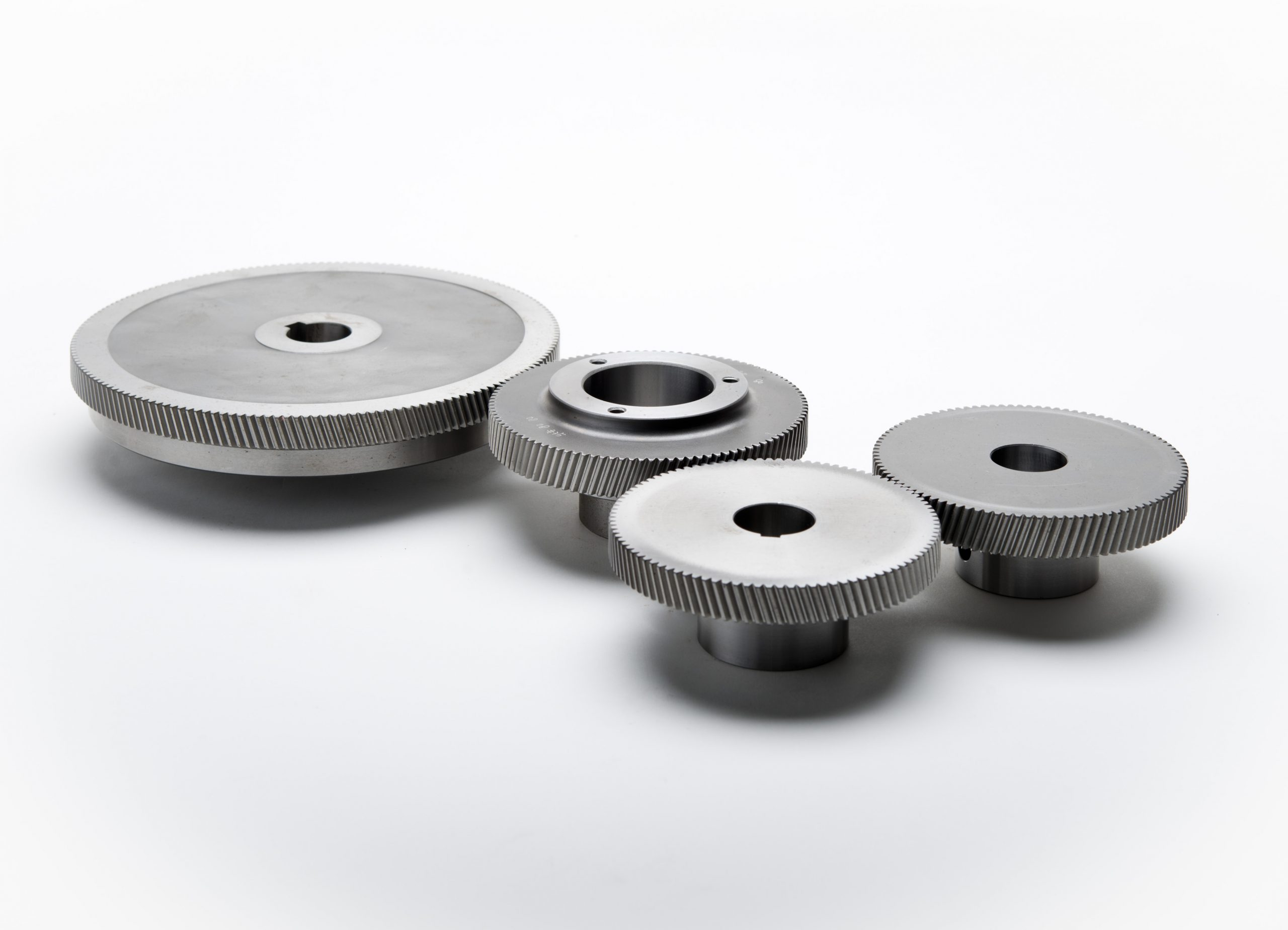 Custom Gears - Helical Gears for Clean Room Vaccuum Pump - Gear Motions