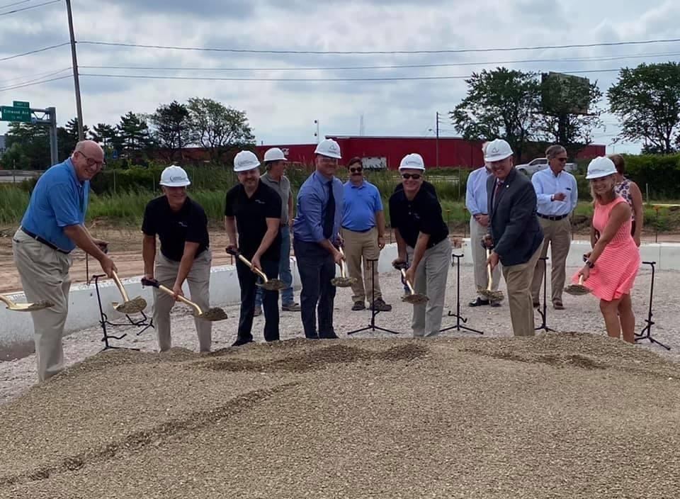 Ceremonial Groundbreaking at Gear Motions Buffalo Operations
