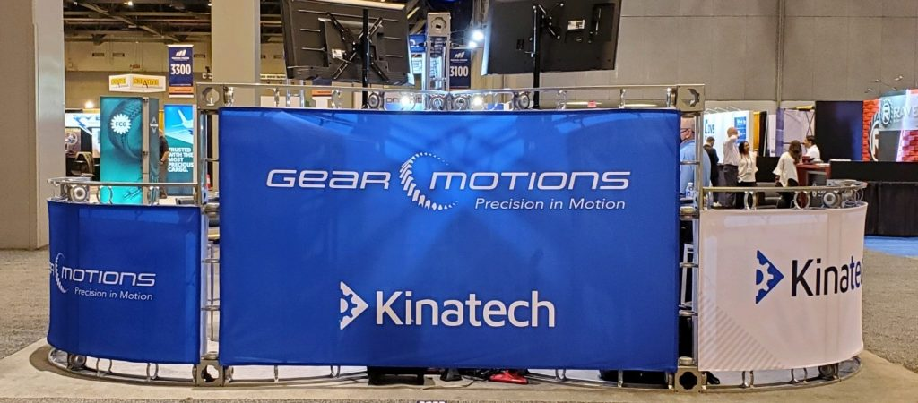 Gear Motions / Kinatech Booth at MPT Expo