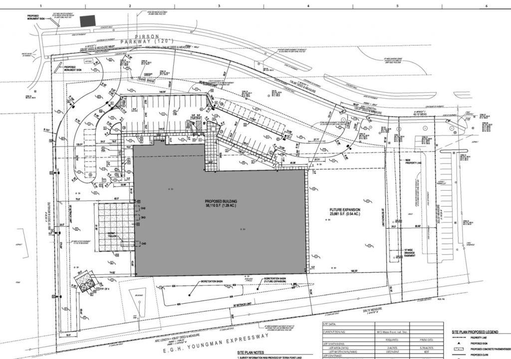 Site layout - Gear Motions Buffalo Operations