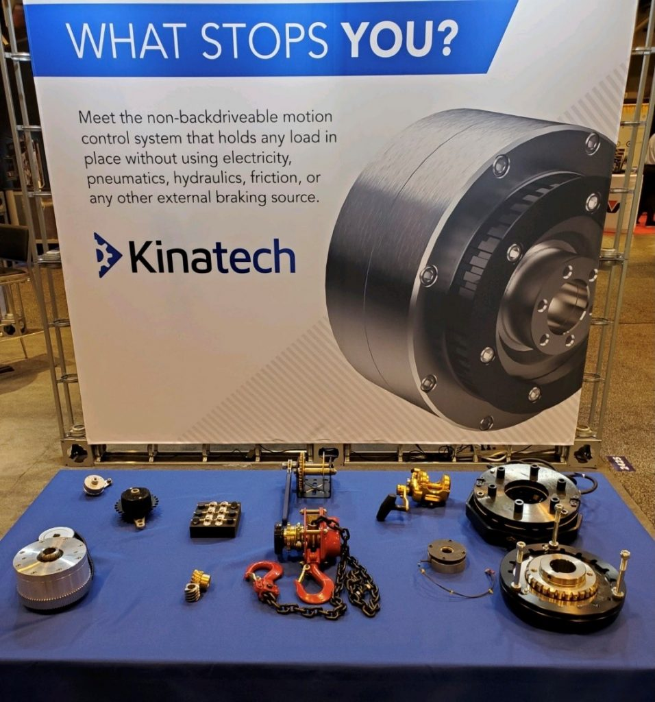 What Stops You? Kinatech display at MPT Expo